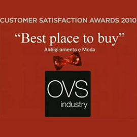 OVS Industry vince il premio Best place to Buy 2010