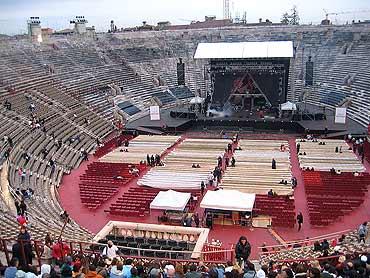 All'Arena di Verona grandi concerti per la stagione 2011