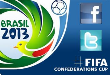 Calcio e social network: gli hashtag della Confederations Cup.