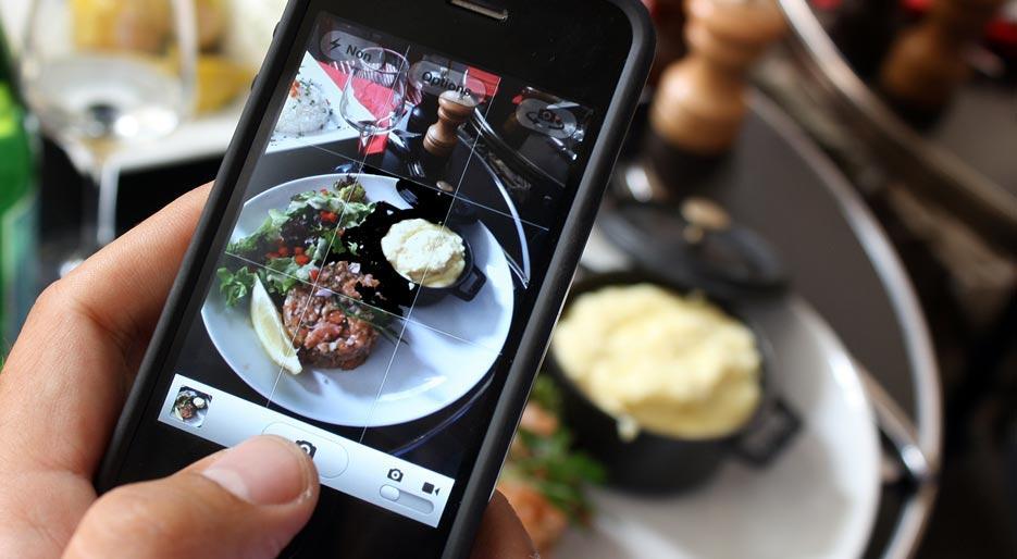 Foodstragram: la mania di fotografare il cibo