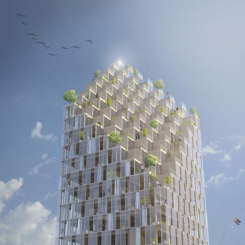 Grattacielo ecosostenibile