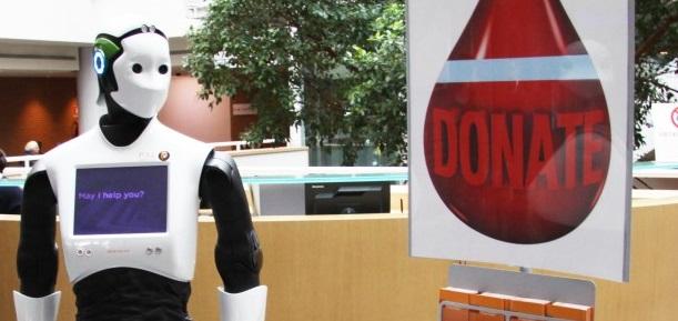 REEM, il robot gentile che assiste i pazienti in ospedale