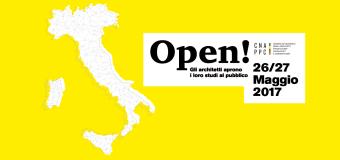 Open! Studi Aperti: gli architetti aprono le porte al pubblico