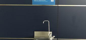 Refill di acqua gratis in aeroporto