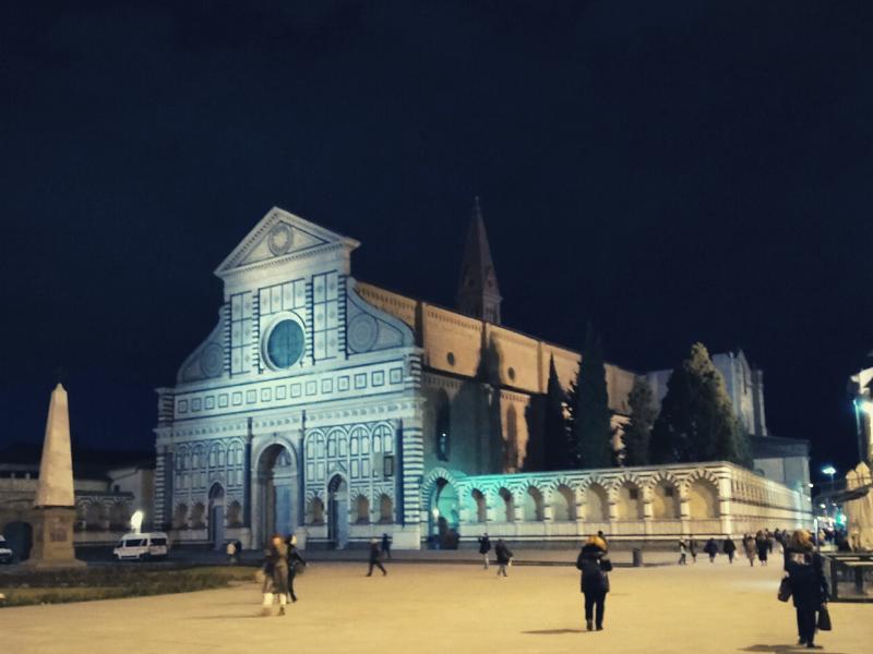 Un itinerario di San Valentino a Firenze. Santa Maria Novella